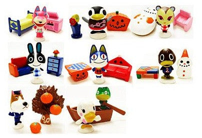 Takara Tomy Animal Crossing Furniture Collection Part 2 8 Trading Figure Set