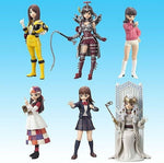 Bandai Tokusatsu Girls In Uniform Vol 5 6+1 Secret 7 Figure Set - Lavits Figure  - 1