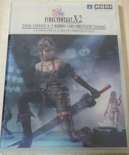 Hori Final Fantasy X-2 PlayStation 2 PS2 Memory Card 8MB Case Paine Ver Used