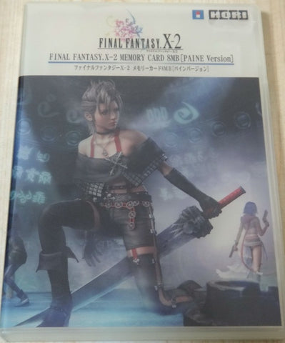 Hori Final Fantasy X-2 Accessorie Play Station 2 PS2 Memory Card 8MB Case Paine Ver