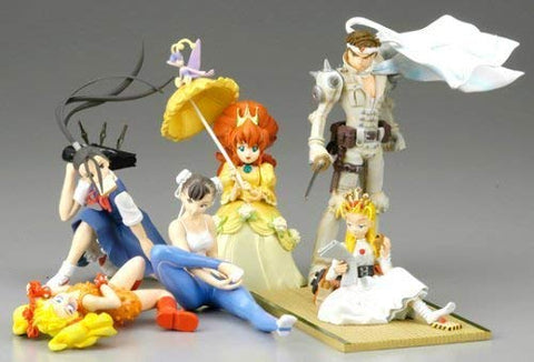 Capcom Kinu Nishimura 6 1P Color Trading Collection Figure
