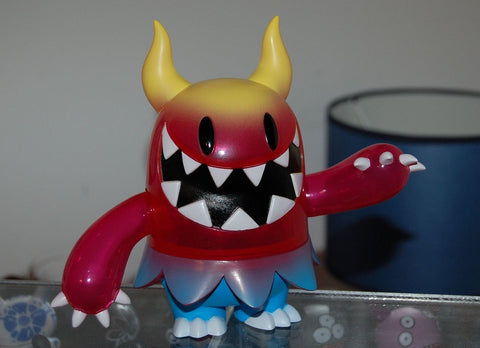 "Wonderwall Touma KFGU Kaiju For Grown Ups Gaburin Red Ver 6"" Vinyl Figure - Lavits Figure"