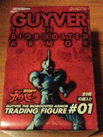 Max Factory Guyver Bio Fighter Wars Bioboosted Armor Part #01 9 Trading Collection Figure Set - Lavits Figure