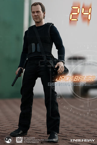 "Enterbay 1/6 12"" 24 Jack Bauer Action Figure"