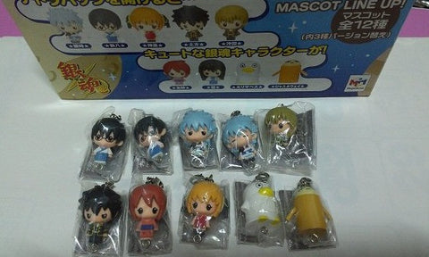 Megahouse Gintama Chara Fortune 9+1 Secret 10 Mascot Strap Trading Figure Set - Lavits Figure