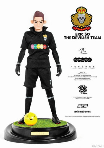 "ZCWO 12"" 1/6 Eric So BFB The Devilish Team Cristiano Ronaldo Action Figure"