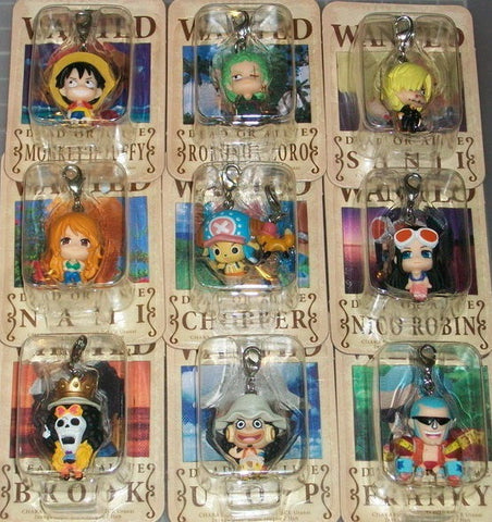 Megahouse 2012 One Piece Fortune 9 Mascot Strap Trading Figure Set - Lavits Figure  - 2