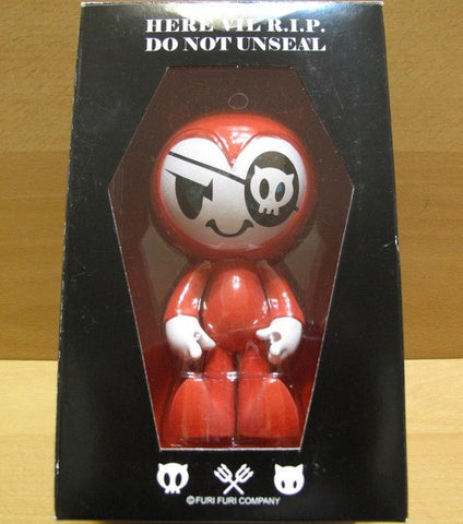 "Phalanx Creative 2007 Furi Furi Vil the Devil Red Ver 5"" Vinyl Figure - Lavits Figure  - 1"