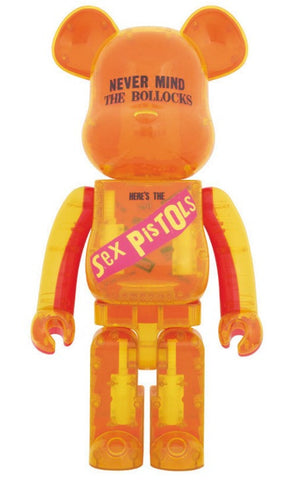 "Medicom Toy Be@rbrick 1000% Live Nation Merchandise Sex Pistols Residuals Clear Ver 29"" Vinyl Figure - Lavits Figure  - 1"