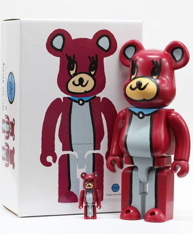"Medicom Toy 2007 Be@rbrick 400% Isetan Modern Pets 11"" Vinyl Collection Figure - Lavits Figure"