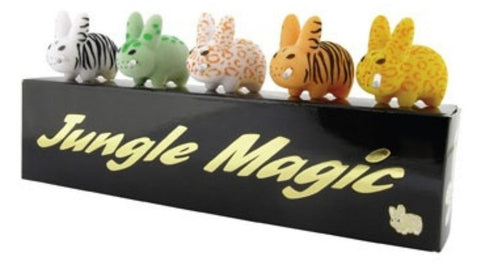 "Kidrobot 2010 Frank Kozik Smorkin Labbit Jungle Magic Edition Ver 5 2"" Vinyl Figure Set - Lavits Figure"