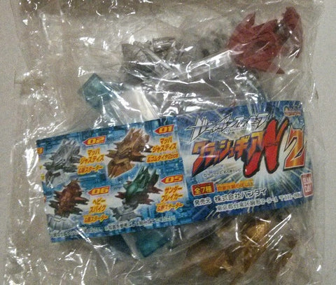 Bandai Crush Gear Gashapon 7 Mini Car Trading Collection Figure Set - Lavits Figure  - 1