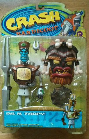 Resaurus Crash Bandicoot Action Series 2 Dr. N Tropy Collection Figure - Lavits Figure  - 1