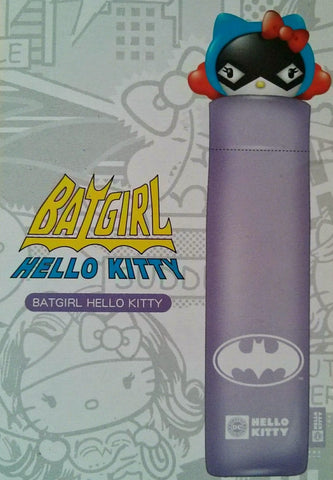 Sanrio Hello Kitty x Dc Comics Batgirl Water Color Changed Umbrella - Lavits Figure  - 1