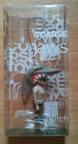 "Coarsetoys Mark Landwehr Jaws Key Chain Switch Ver 2.5"" Vinyl Figure - Lavits Figure"