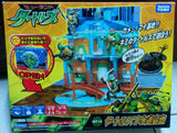 Takara Tomy TMNT Teenage Mutant Ninja Turtles MT-15 Sewer Base Play Set - Lavits Figure  - 1