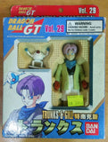Bandai 1997 Dragon Ball GT Super Battle Collection Vol 29 Trunks & Gill Action Figure - Lavits Figure  - 1