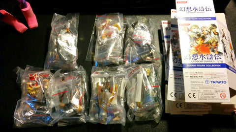 Yamato 2005 Konami Genso Suikoden 7 Trading Collection Figure Full Set Used - Lavits Figure