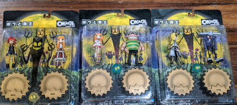 Vice Okage Shadow King Satan And Me 3 Trading Collection Figure Set