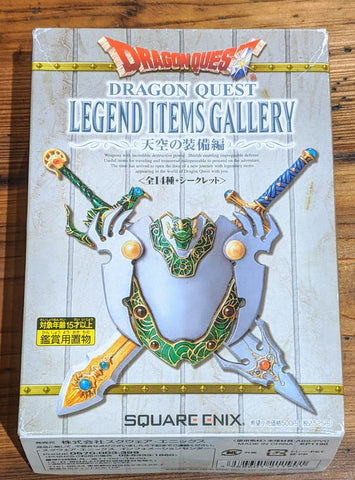 SQEX Toys Square Enix Dragon Quest Legend Items Gallery Sky Equipment ver 14 Figure Set