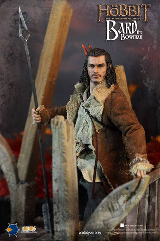 "Asmus Toys 1/6 12"" HOBT02 Heroes of Middle-Earth The Hobbit Bard Action Figure - Lavits Figure  - 3"