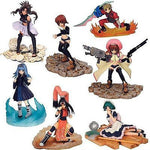 Yujin Erementar Gerad Candy Toy 12+2 Secret 7 Color 7 Crystal Ver 14 Figure Set - Lavits Figure  - 1