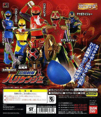 Bandai Power Rangers Hurricanger Ninja Storm HG Gashapon Vol 1 6 Figure Set - Lavits Figure