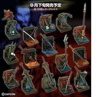 Capcom Onimusha x Mononofu Arms Collection Vol. Part 1 Trading 15 Figure Set - Lavits Figure  - 1