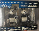 Medicom Toy Kubrick 100% Disney Mickey Mouse Oswald The Lucky Rabbit Figure Set - Lavits Figure  - 1