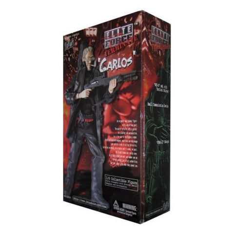 "BBi 12"" 1/6 Elite Force Terminate Carlos Collectible Action Figure - Lavits Figure"