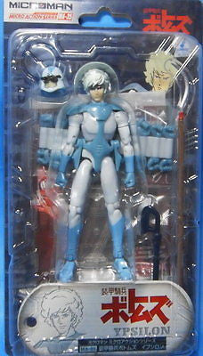Takara Microman Micro Action Series MA-35 Votoms Ypsilon Figure - Lavits Figure  - 1
