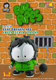 "Toy2R 2007 MCA Evil Ape 6"" Classic Prison Green Club2R Ver. Soft Vinyl Action Figure - Lavits Figure  - 1"