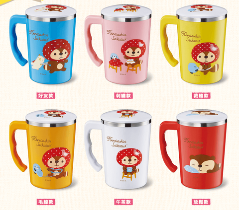 Sanrio Kireizukin Seikatsu 7-11 Limited 6 Type 304 Stainless Steel Tea Cup Mug Set - Lavits Figure