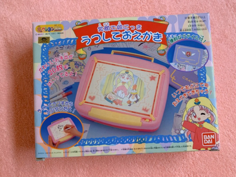 Bandai Yume No Crayon Oukoku Princess Silver Drawing Pad Figure