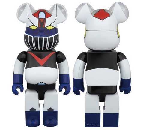"Medicom Toy 2014 Be@rbrick 400% Mazinger Z 11"" Vinyl Collection Figure - Lavits Figure"