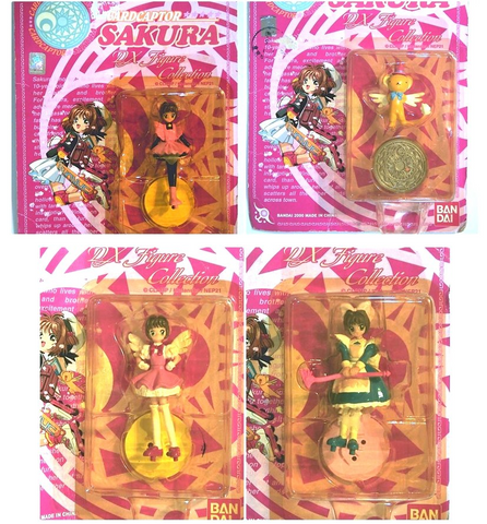 "Bandai Clamp Card Captor Sakura DX Collection 4 3"" Trading Figure Set - Lavits Figure"