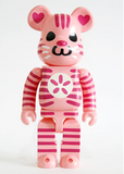 "Medicom Toy 2010 Be@rbrick 400% Shoko Nakagawa Pink Ver 11"" Vinyl Collection Figure - Lavits Figure  - 1"