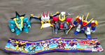 Bandai 2005 Mashin Hero Wataru Gashapon 4 Mini Collction Figure Set - Lavits Figure
