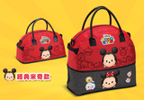 "Disney Tsum Tsum Character Family Mart Limited 8""x6""x15"" Extend Tote Handbag Mickey Mouse Ver - Lavits Figure  - 1"