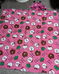 "Sanrio Hello Kitty x Line Friends Watsons Limited 58"" Picnic Mat Set - Lavits Figure  - 3"