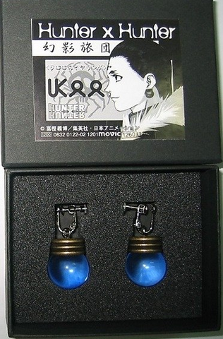 Movic Hunter x Hunter Kulolo Lushilufelu Earrings - Lavits Figure