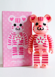 "Medicom Toy 2010 Be@rbrick 400% Shoko Nakagawa Pink Ver 11"" Vinyl Collection Figure - Lavits Figure  - 3"