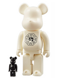 "Medicom Toy 2008 Be@rbrick 400% 100% Lost White Ver 11"" Vinyl Collection Figure - Lavits Figure  - 1"