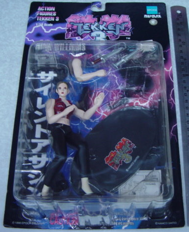Epoch 1/10 Namco's Tekken 3 Nina Williams Action Collection Figure - Lavits Figure