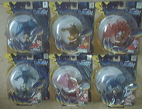Bandai Blue Dragon Zola Shu Jiro Kluke Marumaro Nene 6 Trading Collection Figure Set - Lavits Figure