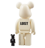 "Medicom Toy 2008 Be@rbrick 400% 100% Lost White Ver 11"" Vinyl Collection Figure - Lavits Figure  - 2"