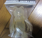 "Secret Base Convex Skull Bee Invisible Clear Ver 5"" Vinyl Collection Figure - Lavits Figure"