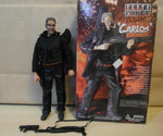 "BBi 12"" 1/6 Elite Force Terminate Carlos Collectible Action Figure Used - Lavits Figure  - 1"