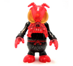 "Secret Base 2006 Convex Skull Bee Artoyz Exclusive Red Ver 5"" Vinyl Collection Figure - Lavits Figure"