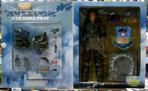 "BBi 12"" 1/6 Collectible Items Elite Aviator F-15C Eagle Pilot Viper Limited Edition Action Figure - Lavits Figure  - 1"
